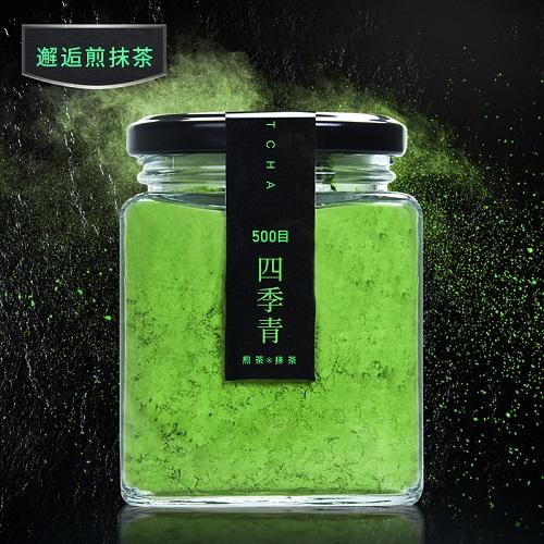 樱花四季青乌龙煎茶抹茶